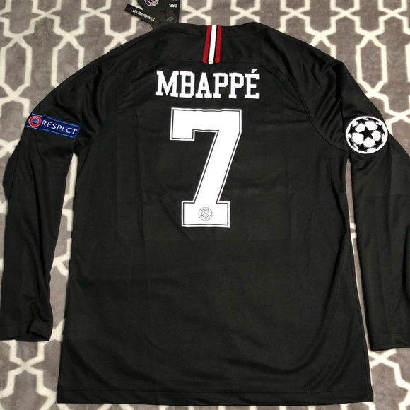 new concept 3a65a 397fd Mbappe PSG Soccer Jersey NWT